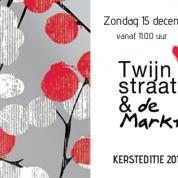 Kerstmarkt Twijnstraat op zondag 15 december, Kortjakje is open!